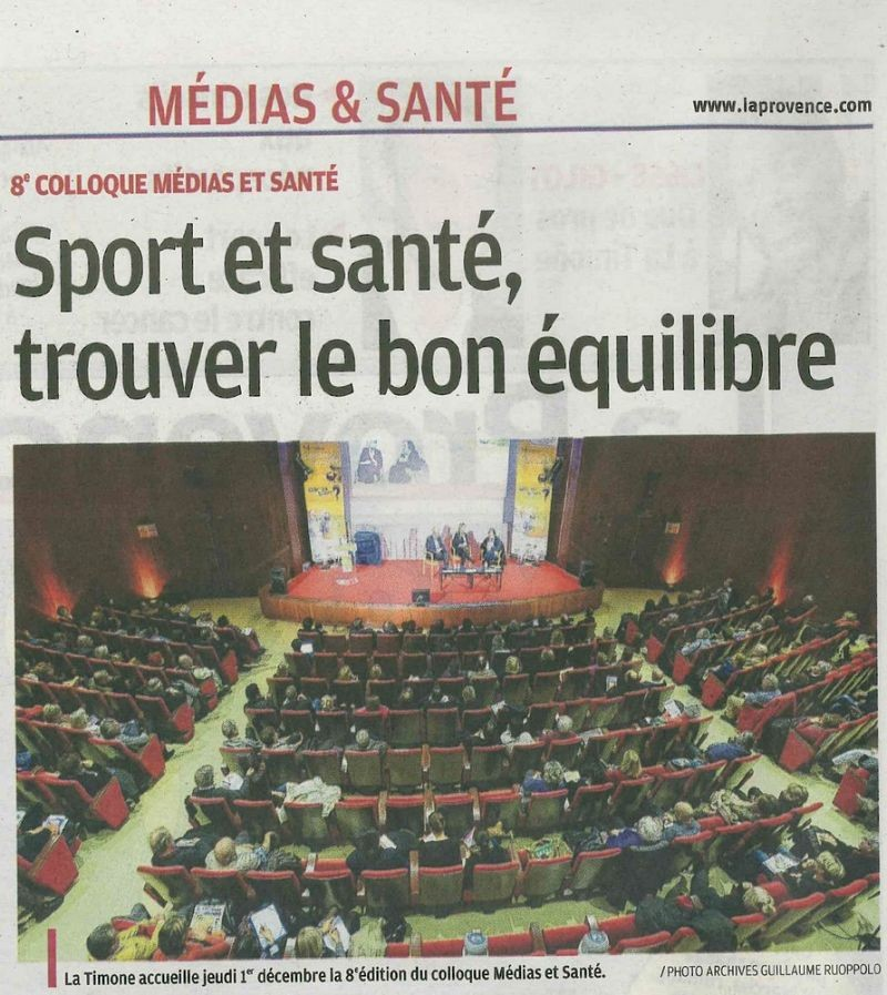 Colloque medias sante